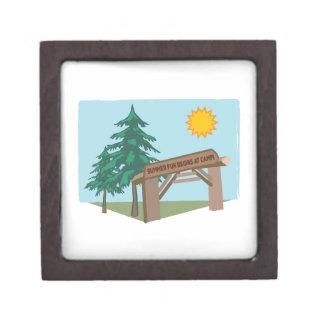 Summer Fun Begins At Camp Premium Gift Box