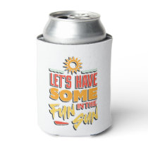 summer fun can cooler
