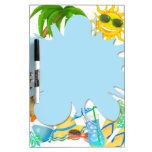 Summer Fun Dry-Erase Whiteboard