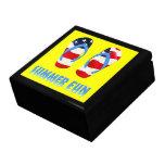 Summer Fun Flip Flops - USA Keepsake Boxes