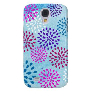 Summer Fun Flower Flower Petals Poms Design Galaxy S4 Cover