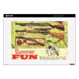 Summer Fun Gun Decals For Laptops
