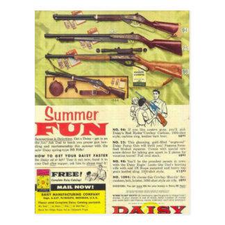 Summer Fun Gun Postcard