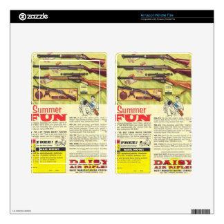 Summer Fun Gun Skins For Kindle Fire