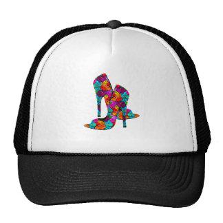 Summer Fun High Heel Shoes Trucker Hat