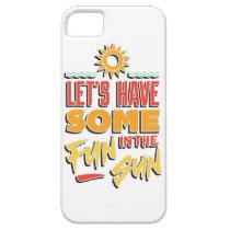 summer fun iPhone SE/5/5s case