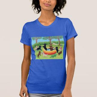 Summer Fun Labradors Painting Shirts