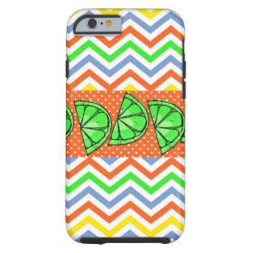 Summer Fun Limes Chevron iPhone 6 Case