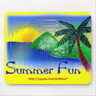 Summer-Fun Mouse Pad