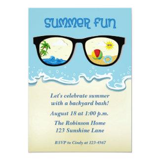 Summer Fun Party Invitation