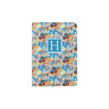 Hawaiian Themed Summer Fun Pattern | Add Your Initial Passport Holder
