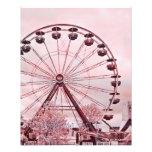 Summer Fun Pink Ferris Wheel Fine Art Print Photo
