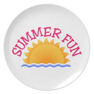 Summer Fun Plates