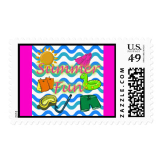 Summer Fun Stamps