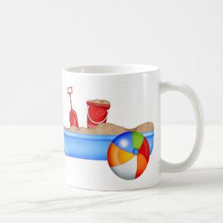 Summer Fun Sand box Beach Ball Coffee Mug