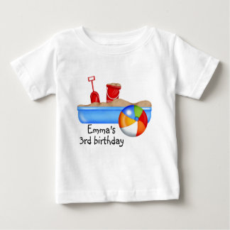 Summer Fun Sand box Beach Ball Tee Shirts