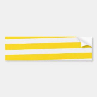 Summer Fun Stripes Bumper Sticker