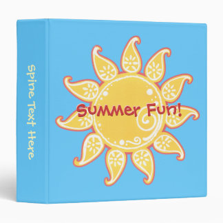 Summer Fun Sun Binder
