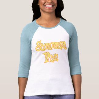 Summer Fun Text Design Shirts