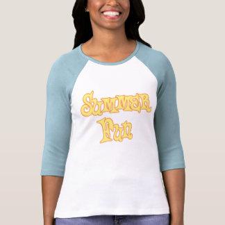Summer Fun Text Design Tshirts