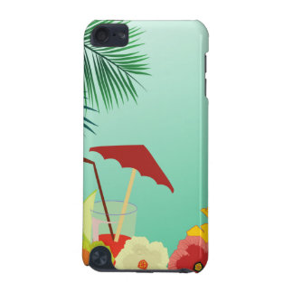 Summer fun tropical drink IPod Touch Case