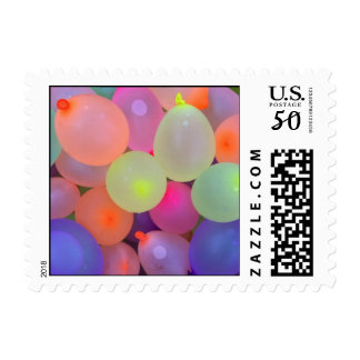 Summer Fun Water Balloon  Postage Stamp