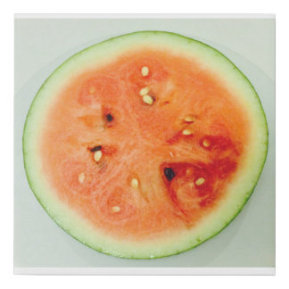 Summer Fun Watermelon 4Karina Faux Canvas Print