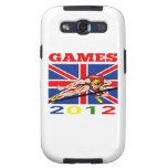 Summer Games 2012 High Jump Track and Field Galaxy S3 Case