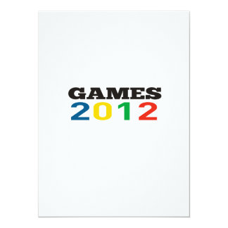 Summer Games 2012 Personalized Announcements