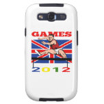 Summer Games 2012 Track and Field Hurdles Samsung Galaxy SIII Case