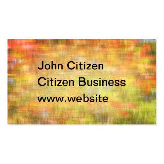 Summer garden abstract woven texture business card