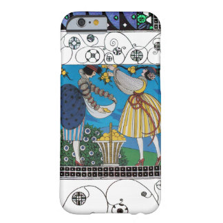 SUMMER GARDEN AND SWIRLS /FASHION COSTUME DESIGNER BARELY THERE iPhone 6 CASE