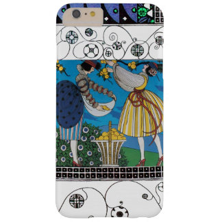 SUMMER GARDEN AND SWIRLS /FASHION COSTUME DESIGNER BARELY THERE iPhone 6 PLUS CASE