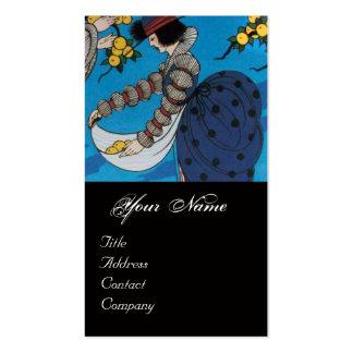 SUMMER GARDEN / BEAUTY FASHION  COSTUME DESIGNER BUSINESS CARD