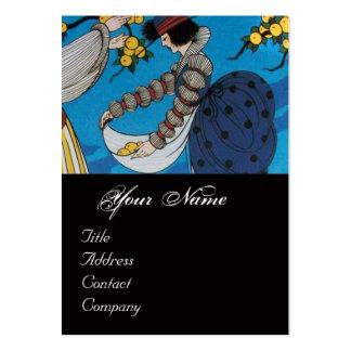SUMMER GARDEN / BEAUTY FASHION  COSTUME DESIGNER LARGE BUSINESS CARD
