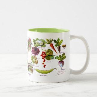 Summer Garden Botanicals Coffee Mugs