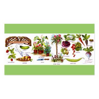 Summer Garden Botanicals Gardening Business Cards