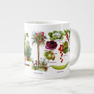 Summer Garden Botanicals Large Coffee Mug