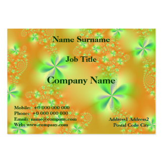 Summer Garden Chubby Business Card Pack Of Chubby Business Cards