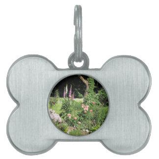 Summer Garden Forest Pet ID Tag