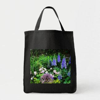 Summer Garden Grocery Tote Bag