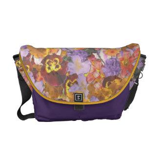 Summer Garden Messenger Bag