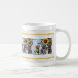 summer garden mug