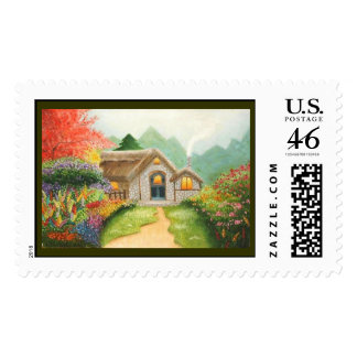 Summer Garden postage