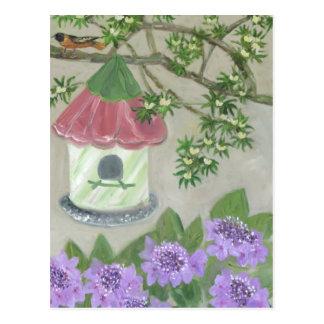 Summer Garden Postcard