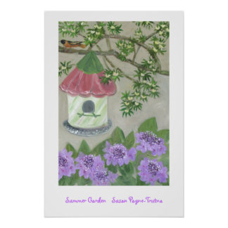 Summer Garden Posters