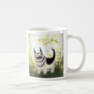 Summer German Shepherd Pup Mug