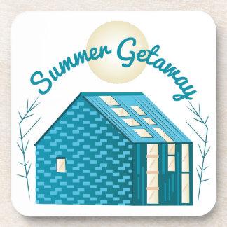 Summer Getaway Drink Coaster