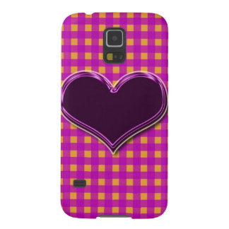 """Summer Gingham checks""cases&skins"".* Galaxy S5 Case"