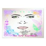 """Summer Girl Invitation 5"""" X 7"""" Invitation Card"""